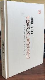 中国共产党广安历史大事记(1993-2011)