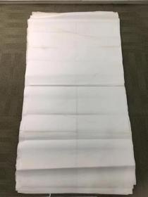 八十年代老宣纸33张,四尺整张,有较多水迹