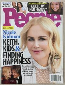 People 人物周刊 2019年 1月21日 NO.03 原版外文英文期刊
