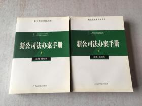 新公司法办案手册(上下册)
