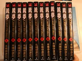 日版 漫画 木城幸人 铳梦 Gunnm Last Order 12册 原版