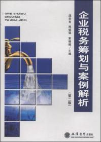 企业税务筹划与案例解析(第二版)汪华亮 9787542942463