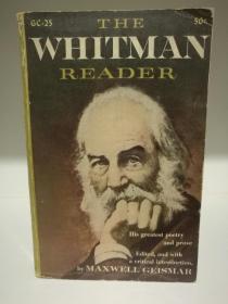 沃尔特·惠特曼读本:诗歌与散文 The Whitman Reader:His Greatest Poetry and Prose (美国文学经典)英文原版书