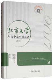 北京文学年度中篇小说精选:2017