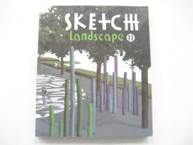 英文原版    Sketch Landscape(草图景观)Ⅱ    20开铜版彩印