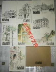 明信片 观澜湖 华谊 冯小刚 电影公社(共计八张)