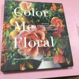 Color Me Floral 四季插花艺术英文原版
