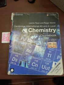 Cambridge International AS and A Level Chemistry Coursebook with CD-ROM (大16开) 【详见图】