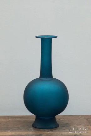 仿宋直颈花瓶~透明&磨砂