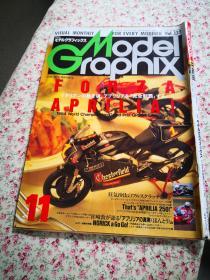 日本兵器模型杂志 《Model Graphix》VOL.132  摩托