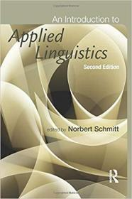 An Introduction to Applied Linguistics, Second Edition 应用语言学入门