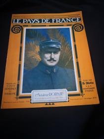 捡漏,百年前的一战时的法国画报 《LE PAYS DE FRANCE》第115期,1916年12月28日的法国战事