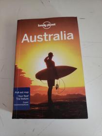 Lonely Planet Australia)(书上有轻微水渍)