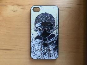 iPhone 4 手机壳 塑料材质   (The Boy)