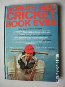 WORLDS BEST CRICKET BOOK EVER (世界上最好的板球书) 按图发货,严者勿拍,售后不退,谢谢理解!