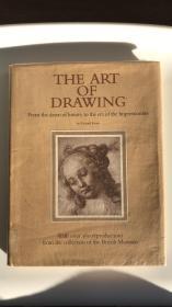 英文原版 The Art of Drawing 绘画艺术 From the dawn of history to the era of the impressionists 介绍世界各国绘画艺术含大英博物馆藏画160多幅