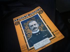 捡漏,百年前的一战时的法国画报 《LE PAYS DE FRANCE》第117期,1917年1月11日的法国战事  阵地战