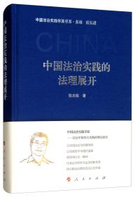 中国法治实践的法理展开(中国法治实践学派书系)