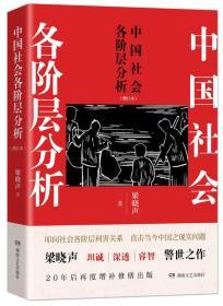 《中国社会各阶层分析(增订本)》