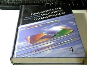 FUNDAMENTALS OF ENGINEERING THERMODYNAMICS【工程热力学基础 第四版 16开精装】