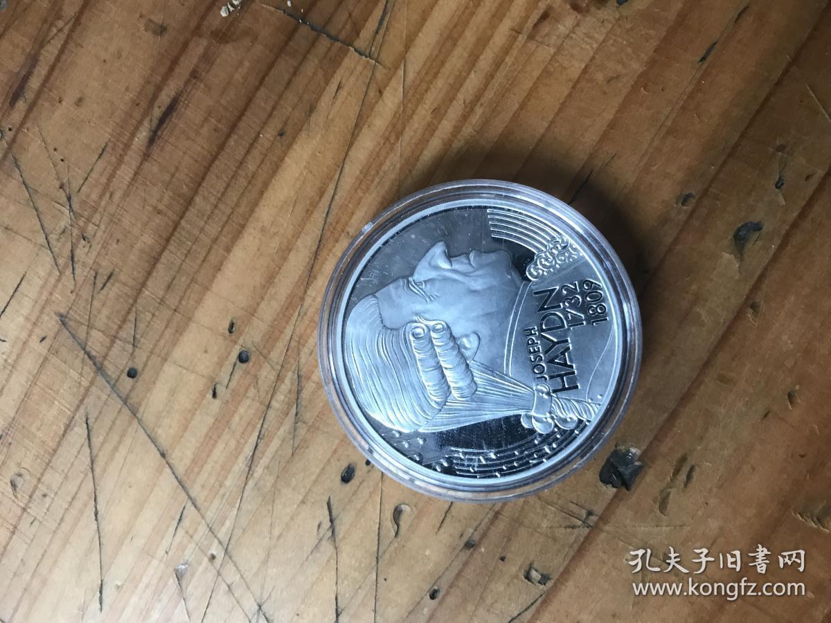 joseph haydn1732  1809约瑟夫·海顿 AUSTRIA  25  ECU 纪念币