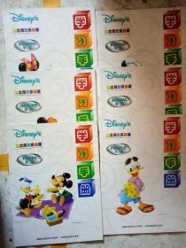 迪士尼欢乐美语:(动物.饮食.自然.学校.食物.人物)书加学习手册12本  中英