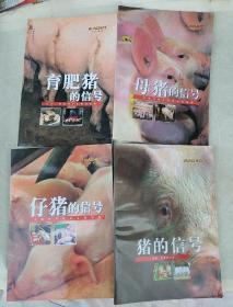 猪的信号【全4册】猪的信号+母猪的信号+仔猪的信号+育肥猪的信号b25 -4