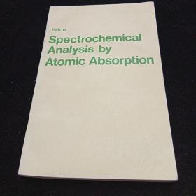 英文原版。原子吸收光谱化学分析
