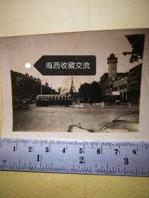 【民国古老照片,非常罕见】民国36年(1947年)2月9日缅甸首都仰光市区中心