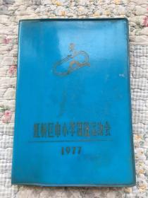 红桥区中小学田径运动会1977(护理讲课记录)软精装