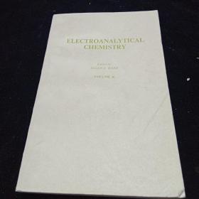 英文原版。电分析化学(第十卷)