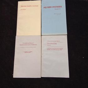 英文原版书籍四本