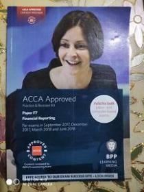 正版 ACCA F7 Financial Reporting For exams in September 2017,December 2017,March 2018 and June 2018 9781509708581
