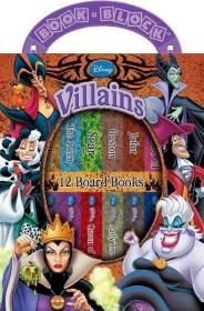My First Library Disney Villains 12 Books