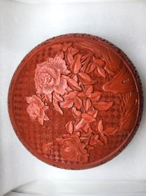 雕漆剔红出口创汇时期捧盒