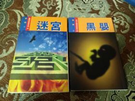 罗开作品《迷宫》《黑婴》两册合售,亚洲之鹰新冒险历奇系列