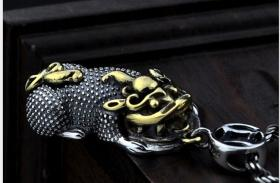 S925纯银吊坠泰银吊坠,招财进宝,发财貔貅吊坠,工艺精湛,鬼斧神工值得永久收藏