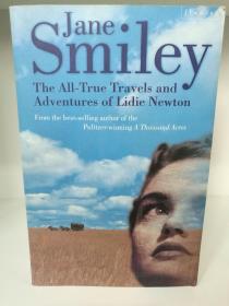 简·斯迈利 The All True Travels and Adventures of Lidie Newton by Jane Smiley (旅行)英文原版书