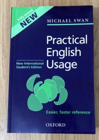 Practical English Usage Third Edition, New International Students Edition 牛津英语用法指南 9780194420969