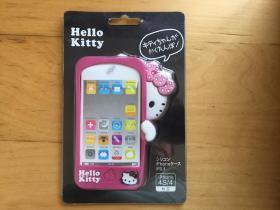 iPhone 4 手机壳 橡胶材质(Hello Kitty)   (粉色)