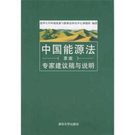 中国能源法(草案)专家建议稿与说明