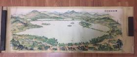 杭州西湖全景图
