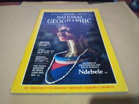 《国家地理杂志》NATIONAL GEOGRAPHIC( FEBRUARY 1986)1986年2月