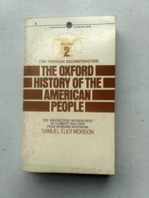 THE OXFORD HISTORY OF THE AMERICAN PEOPLE2