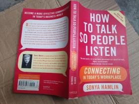 How to Talk So People Listen