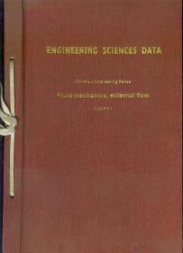 工程科学数据集(化工辑)流体力学外流分辑 第1卷 英文版 具体书名见图片