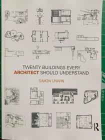 全新现货 Twenty Buildings Every Architect Should Understand 平装  建筑师应该读解的20栋建筑