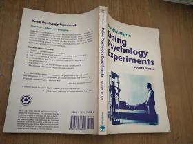 Doing Psychology Experiments