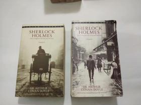 外文原版-SHERLOCK HOLMES the Complete Novels and Stories (福尔摩斯探案全集)VOLUMN I、VOLUMN II 全二册