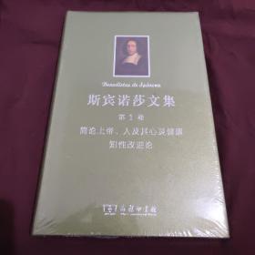 斯宾诺莎文集:第1卷:简论上帝、人及其心灵健康 知性改进论